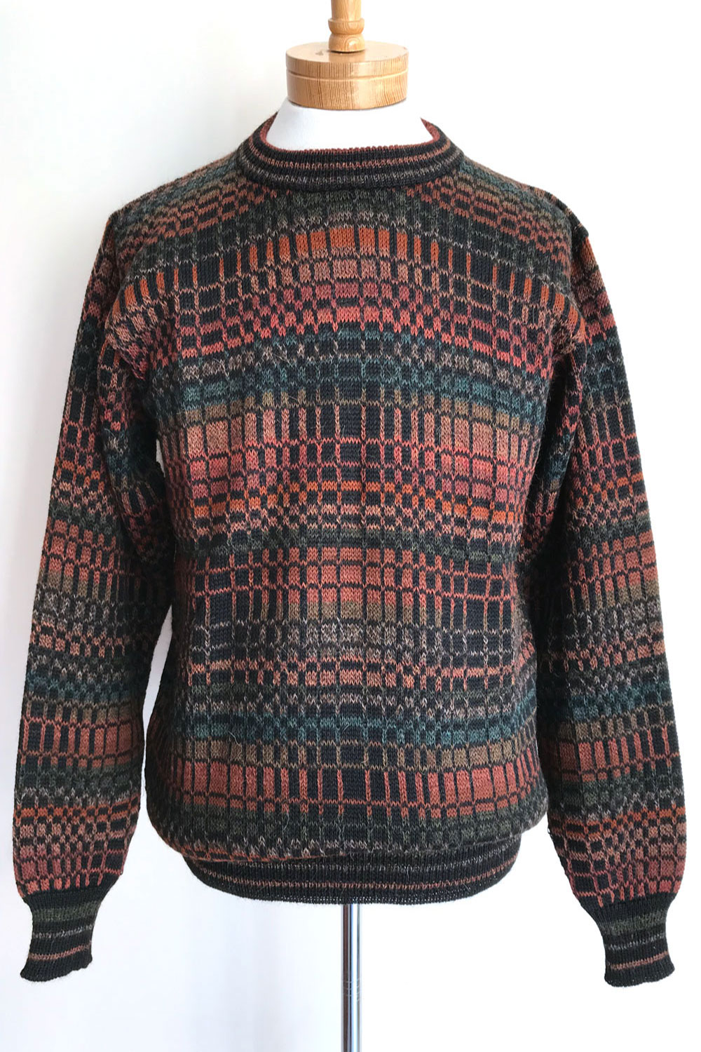 Daniel Sweater - Red Multi