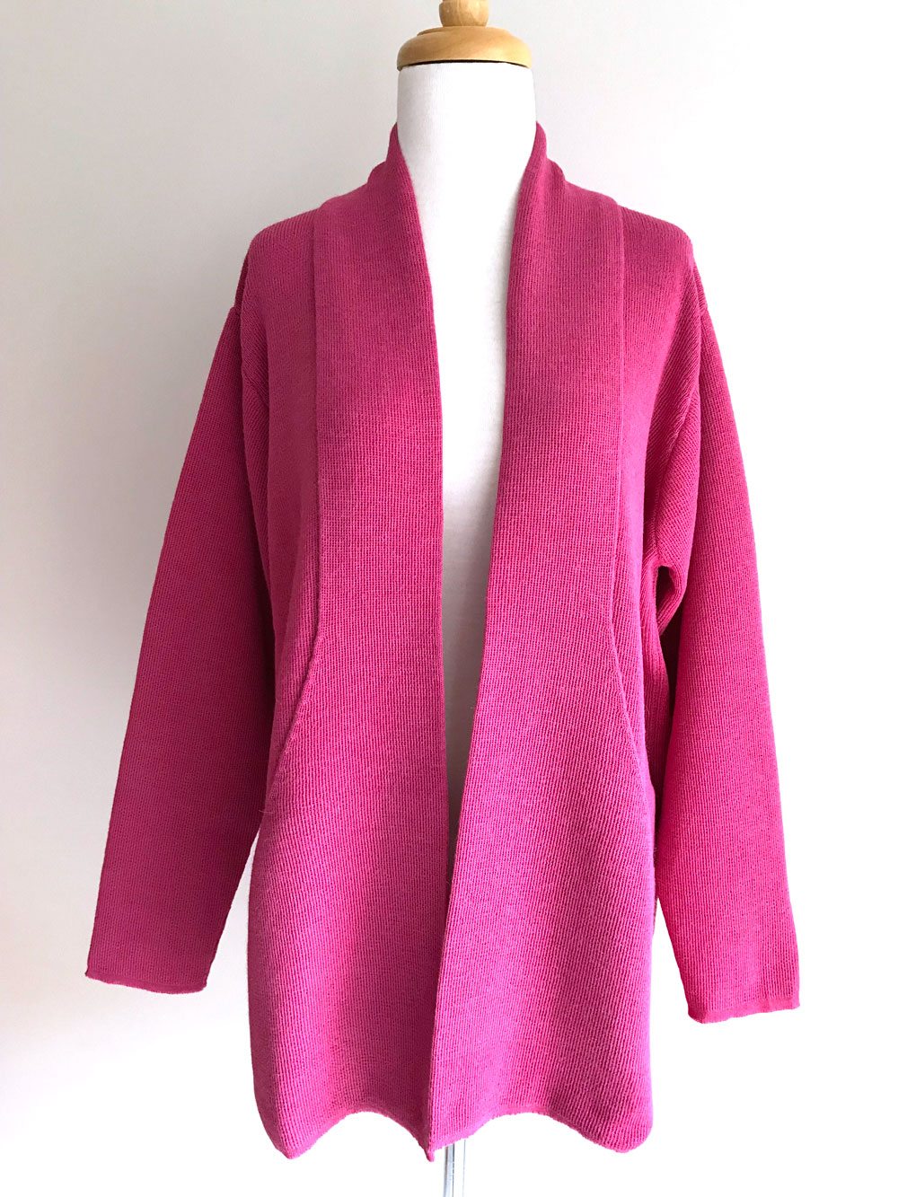 Long Laura Cardigan - Pink