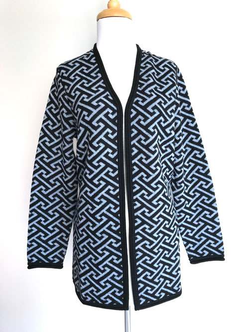 Madrid Jacquard Cardigan