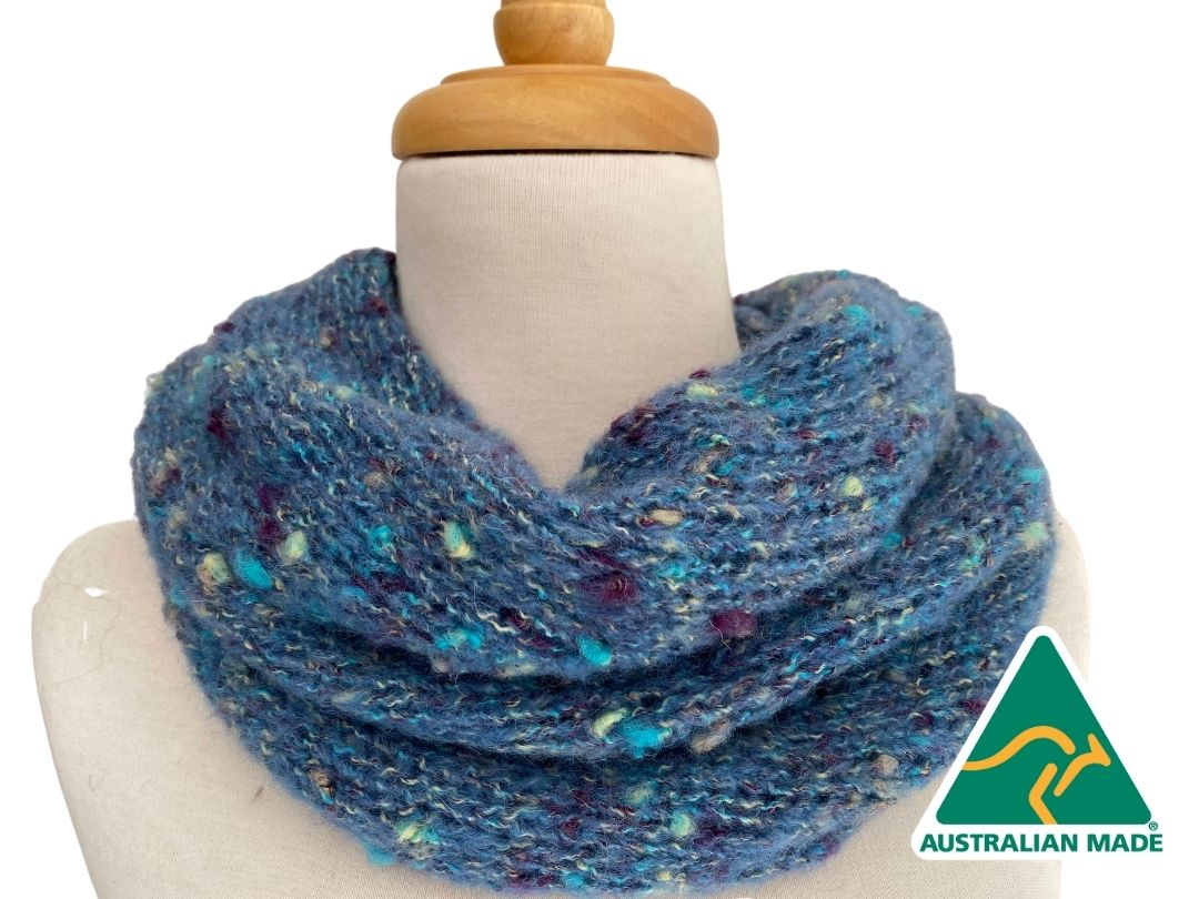 NEW - Christine Indulge Neckwarmer - Aqua