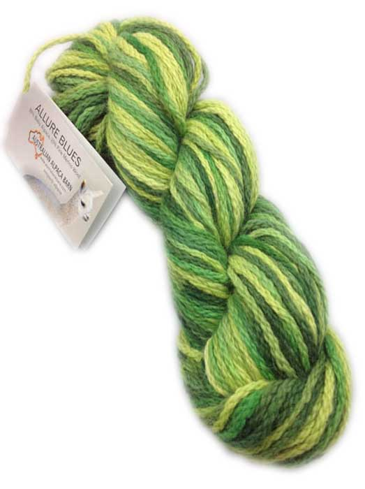 Allure Hand Painted Yarn - Greens 336