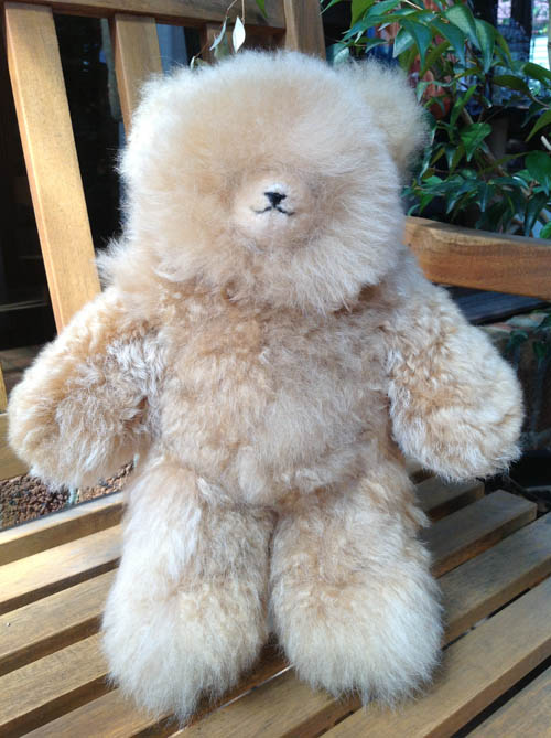 Huacaya Alpaca Teddy Extra Large 450mm