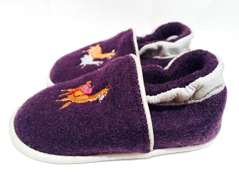 Baby Paca Shoes - Purple