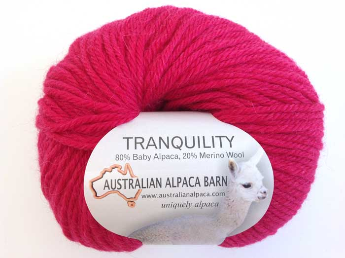 Tranquility Yarn - Hot Pink 3681