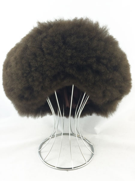 Fur Hat - Dark Brown
