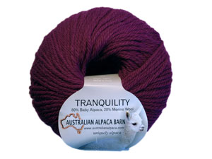 Tranquility Yarn - Mulberry 5820