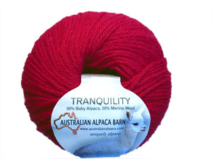 Tranquility Yarn - Red 2060