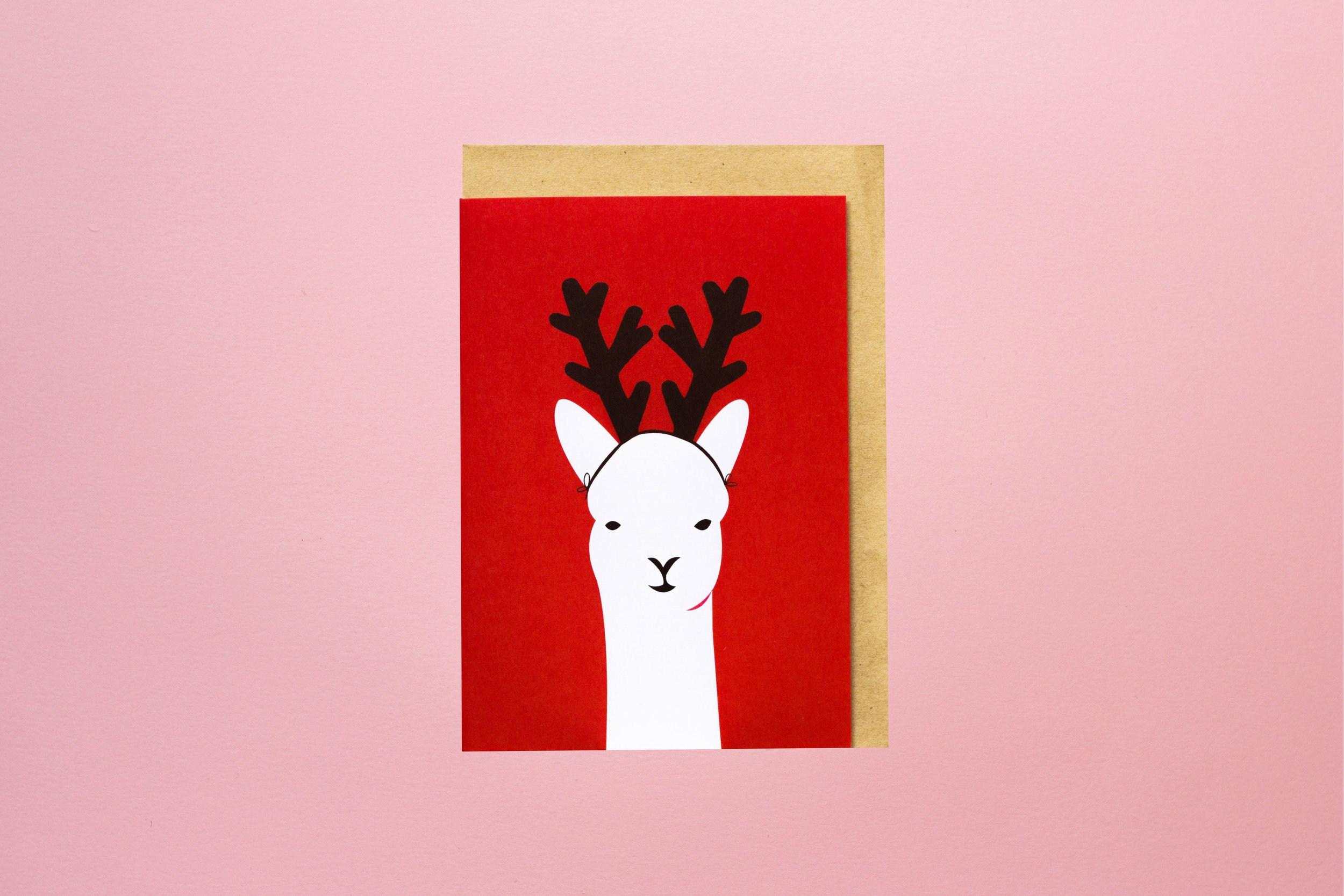 Reindeer Wannabe Greeting Card