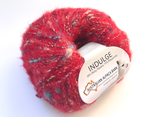 Indulge Yarn - Red 1689
